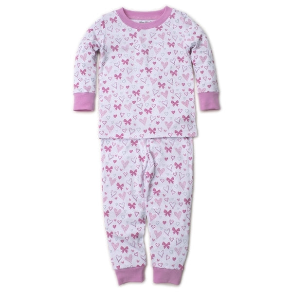 Kissy Kissy - Hearts Abound - Print Pajama Set - Snug Fit