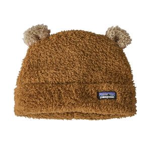 Patagonia - Baby Furry Friends Hat - Beech Brown