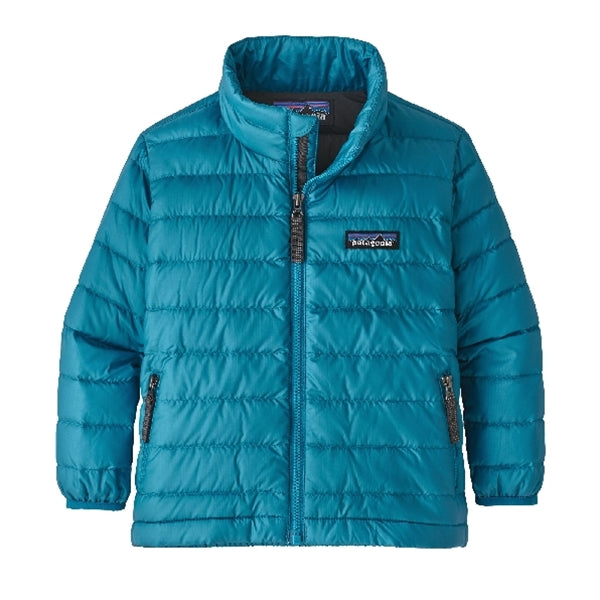 Patagonia - Baby Down Sweater Balkan Blue: Forge Grey