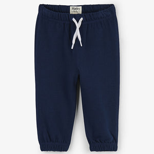 Hatley - French Terry Baby Joggers - Navy