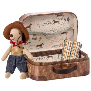Maileg - Cowboy in suitcase, Little brother