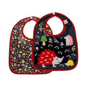 Ore - Mini Bib Gift Set-of-Two - Hedgehog