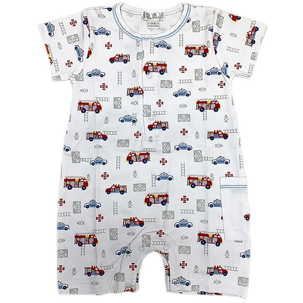 Kissy Kissy - Rescue Team - Print Short Playsuit