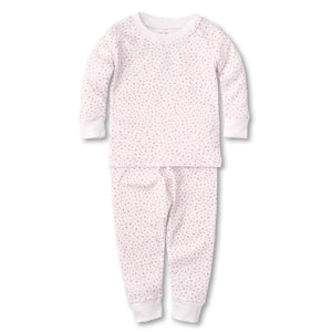 Kissy Kissy - Sweethearts - Print Pajama Set - Snug Fit - White/Pink