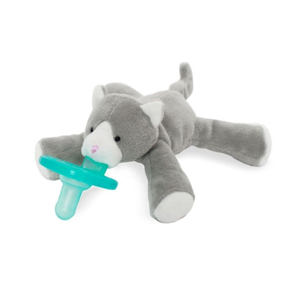 Wubbanub Pacifiers - Grey Kitten