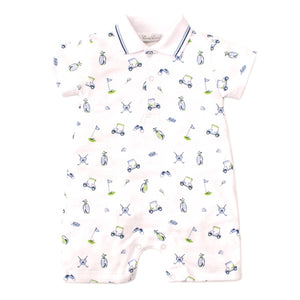Kissy Kissy - Double Bogey - Print Short Playsuit