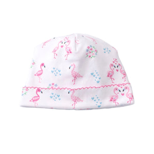 Kissy Kissy - Flowering Flamingos - Print Hat - Pink