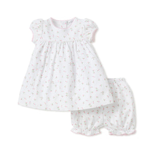 Kissy Kissy - Garden Roses Dress with Diaper Cover