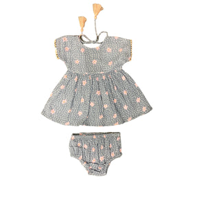 Mimi and Maggie - Beach Party 2 PC Set - Grey