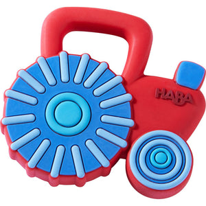 Haba - Tractor Silicone Teether