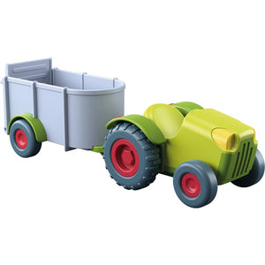 Haba - Little Friends – Tractor and trailer