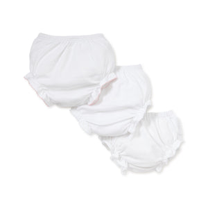 Kissy Kissy - Basic Diaper Cover 3 Set - White