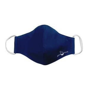 Green Spouts - Reusable Face Mask - Youth/Adult Small - Navy