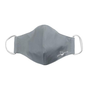 Green Spouts - Reusable Face Mask - Youth/Adult Small - Gray