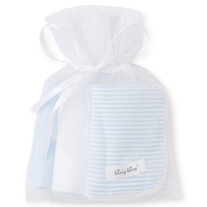 Kissy Kissy - Sets 3 Pack Burp - Blue Stripe