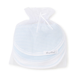 Kissy Kissy - Sets 3 Pack Bib - Blue Stripe
