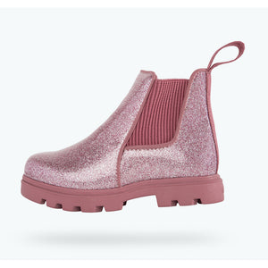 Native Shoes - Kensington Treklite Boot - Pink Glitter - Temple Pink