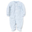 Kissy Kissy - Simple Stripes Footie - Blue