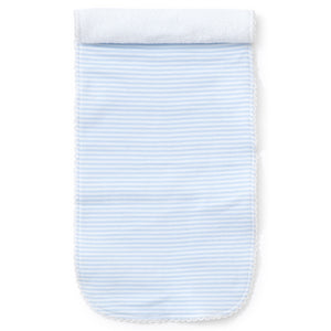Kissy Kissy - Simple Stripes Burp - Blue