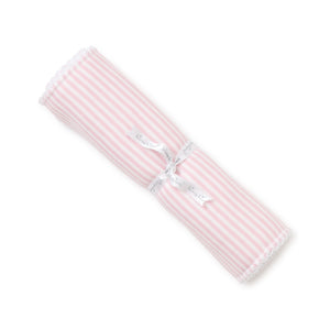 Kissy Kissy - Simple Stripes Burp - Pink