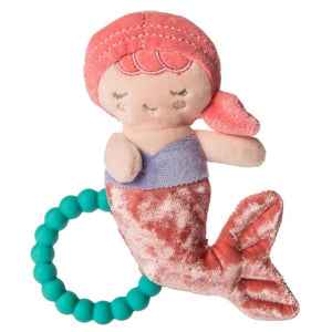 Mary Meyer - Marina Mermaid Teether Rattle - Pink