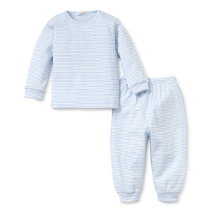Kissy Kissy - Simple Stripes LS Tee and Pants - Blue