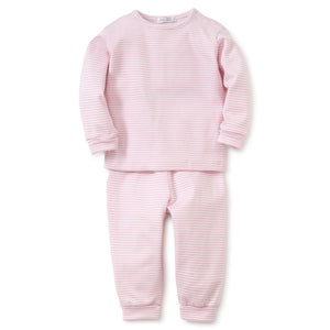 Kissy Kissy - Simple Stripes LS Tee and Pants - Pink
