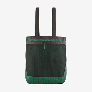 Patagonia - Planing Tote 32L - Fish Hex Small: Eelgrass Green