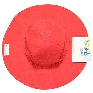 Flap Happy - Red Floppy Hat