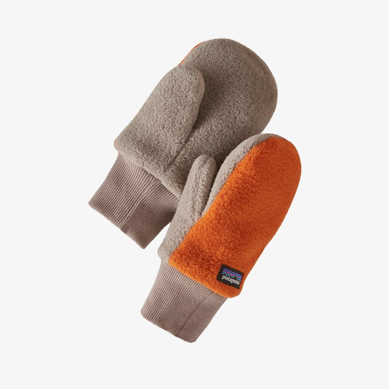 Patagonia - Baby Pita Pocket Mittens - Desert Orange