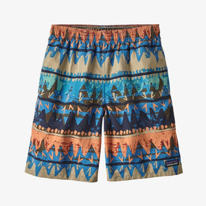 Patagonia - Boys' Baggies Shorts - 7 inch - Bandicoot: Port Blue