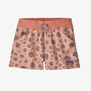 Patagonia - Girls' Costa Rica Baggies™ Shorts - Tropical Bloom: Mellow Melon