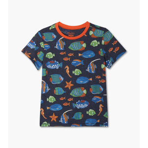 Hatley - Bright Fish Graphic Tee
