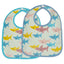 Ore - Mini Bib Gift Set-of-Two - Smiley Shark