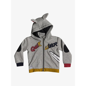 Quiksilver - Funny Doggo Zip-Up Hoodie for Boys 2-7