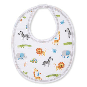 Kissy Kissy -Summer Safari -Print Bib -Multi