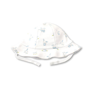 Kissy Kissy - Bunny Buzz - Print Sunhat - Light Blue