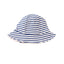 Kissy Kissy -Crab Craze -Reversible Sunhat -Blue