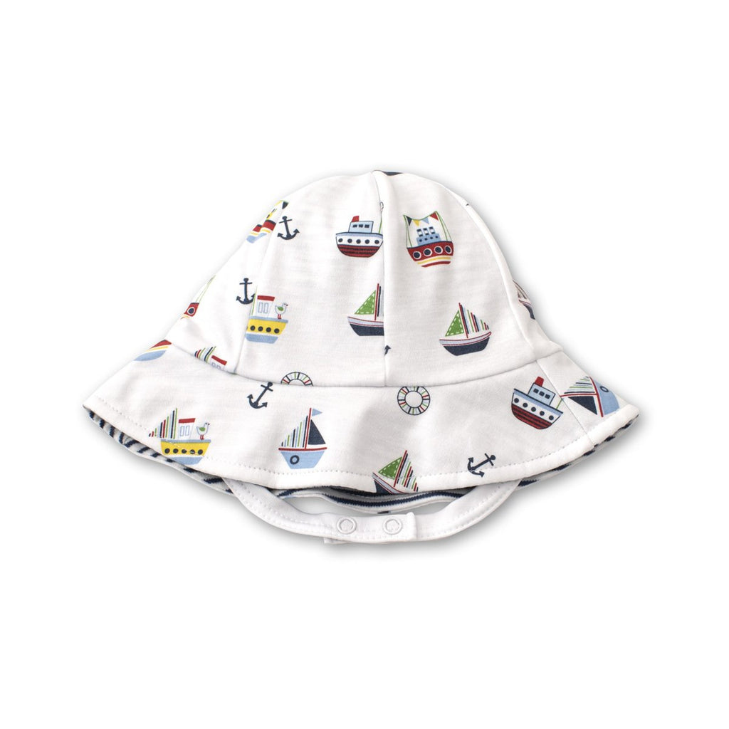 Kissy Kissy -Windjammers -Reversible Sunhat -Multicolored