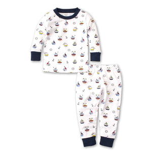 Kissy Kissy -Windjammers -Print PJ Set - Snug Fit -Multicolored