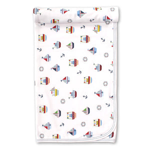 Kissy Kissy -Windjammers -Print Blanket -Multicolored