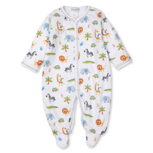 Kissy Kissy -Summer Safari -Print Footie -Multi