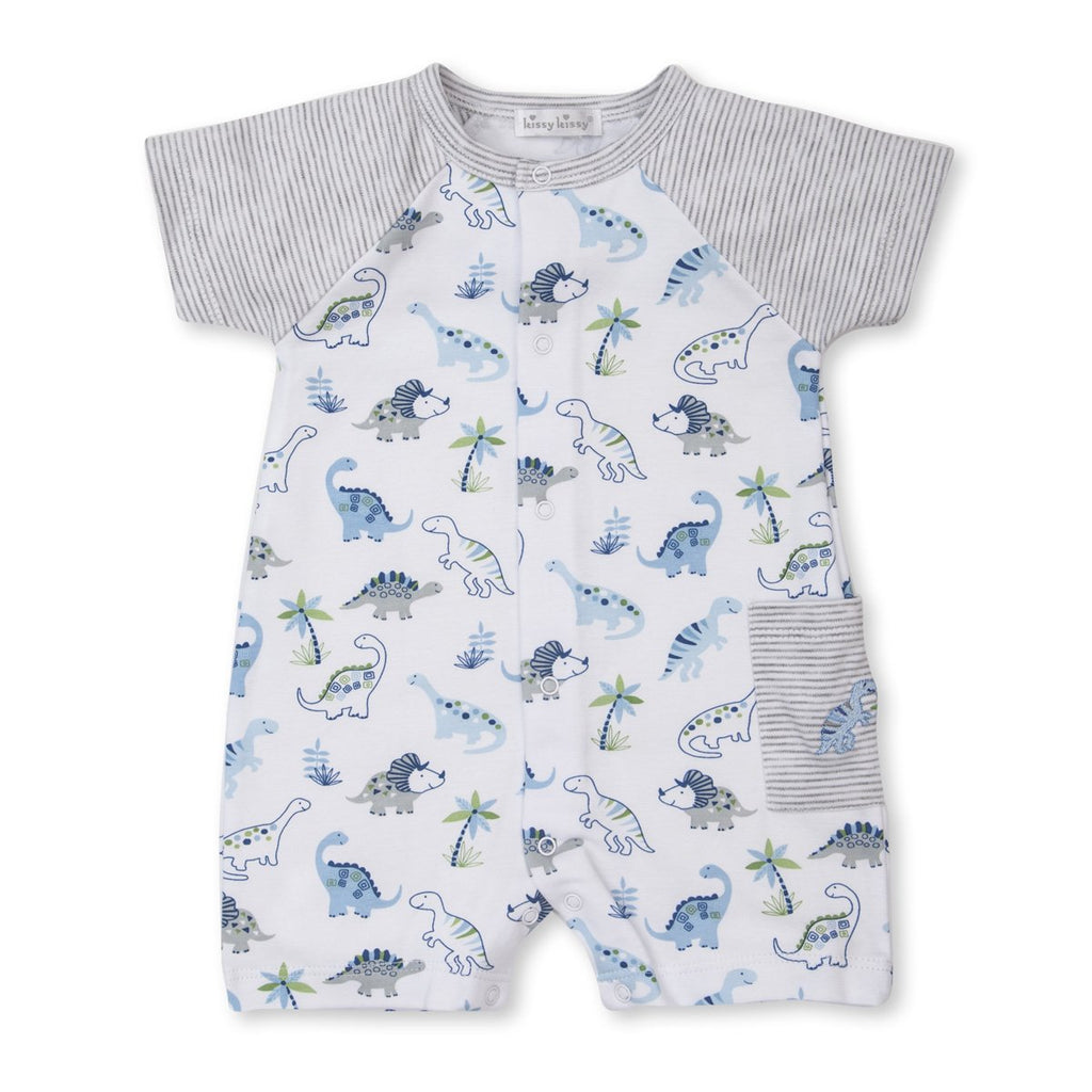 Kissy Kissy -Happy-Saurus -Short Palysuit -Multi