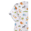 Kissy Kissy -Summer Safari -Print Converter Gown -Multi