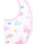 Kissy Kissy - Whale Of A Time - Print Bib - Fuchsia