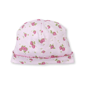 Kissy Kissy -Strawberry Soiree -Print Hat -Pink