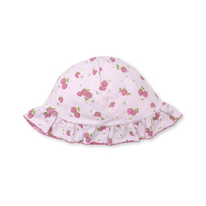 Kissy Kissy -Strawberry Soiree -Print Floppy Hat -Pink