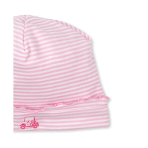 Kissy Kissy -Longest Drive -Striped Hat -Pink
