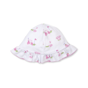 Kissy Kissy -Longest Drive -Print Floppy Hat -Multi Pink