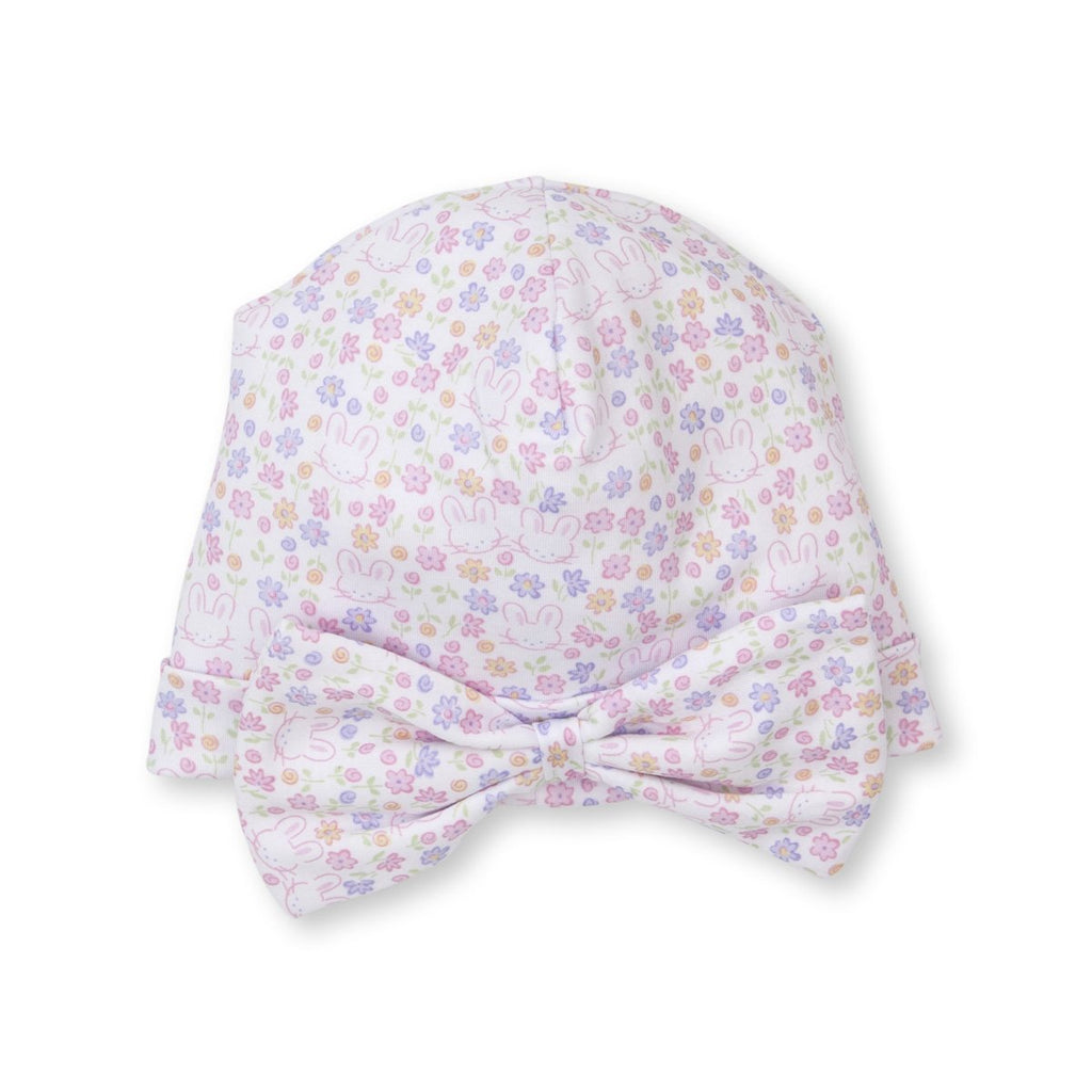 Kissy Kissy -Backyard Bunnies -Print Hat - Novelty -Multi